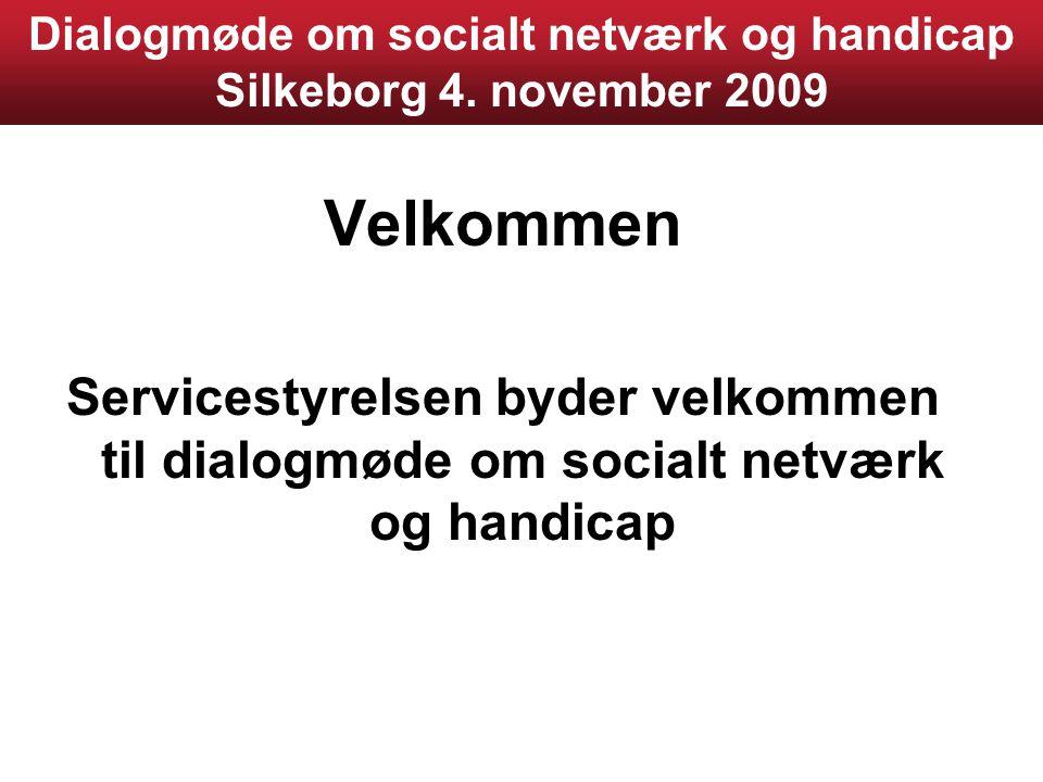 Dialogmøde om socialt netværk og handicap Silkeborg 4.