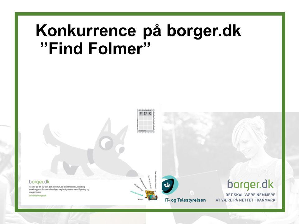 Konkurrence på borger.dk Find Folmer