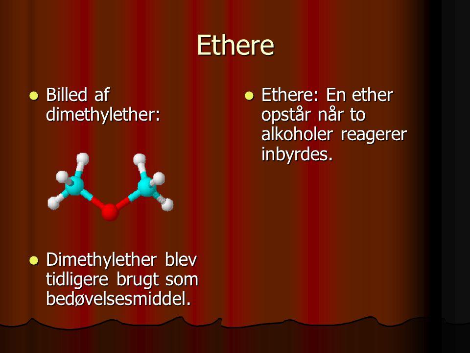 Ved tilsætning af 10% svovlsyre spaltes peroxidet til phenol og propan (acetone) Ved tilsætning af 10% svovlsyre spaltes peroxidet til phenol og propan (acetone) 