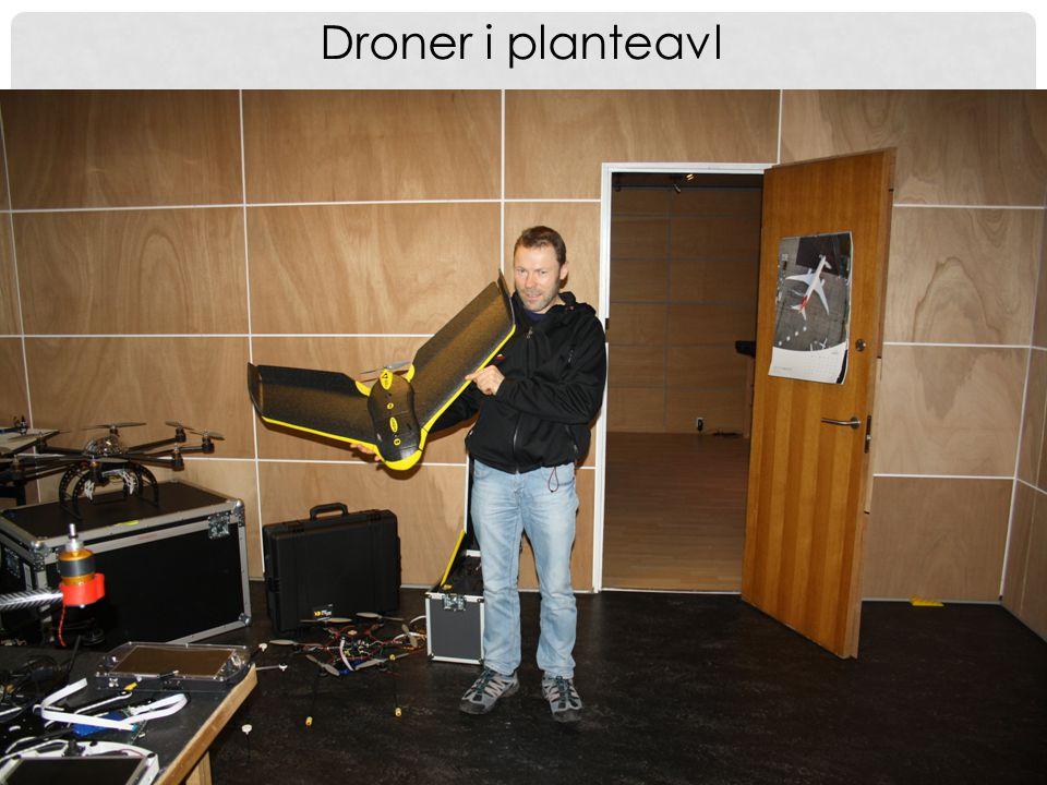 Droner i planteavl