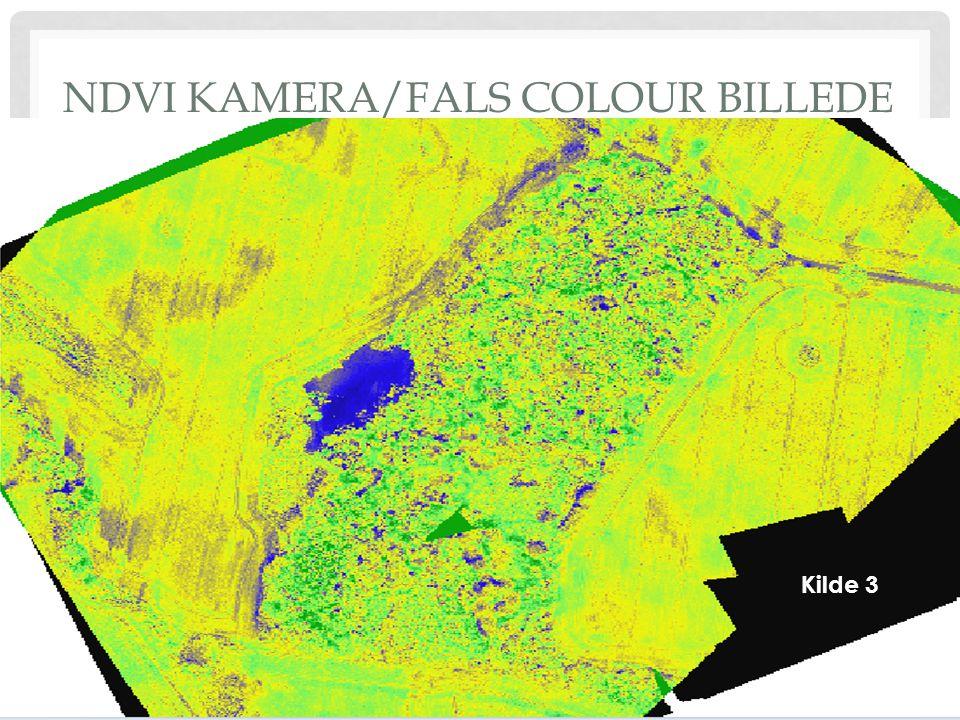 NDVI KAMERA/FALS COLOUR BILLEDE Kilde 3