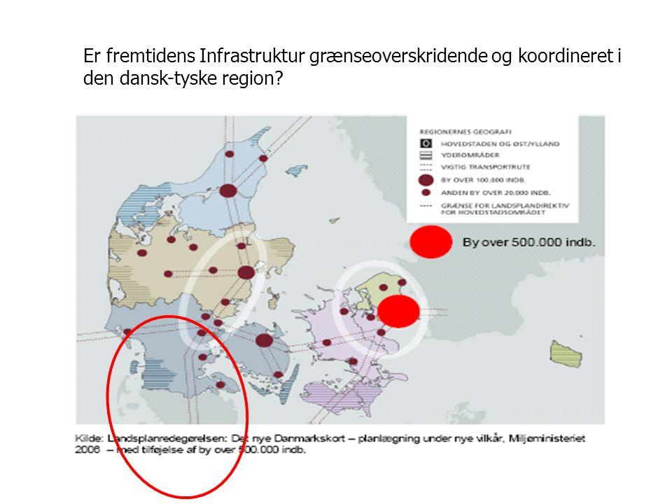 Er fremtidens Infrastruktur grænseoverskridende og koordineret i den dansk-tyske region