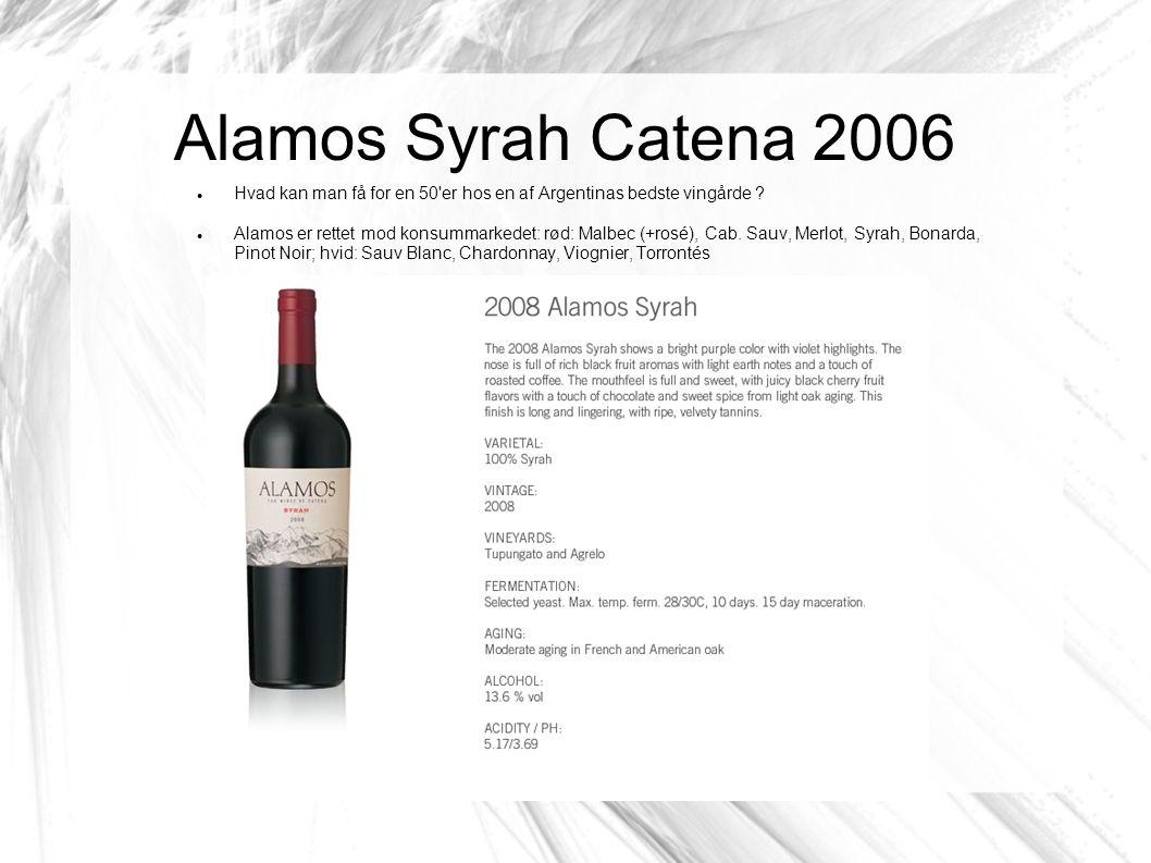 Hvad kan man få for en 50 er hos en af Argentinas bedste vingårde .