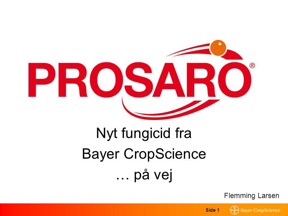 Side 1 Nyt fungicid fra Bayer CropScience … på vej Flemming Larsen