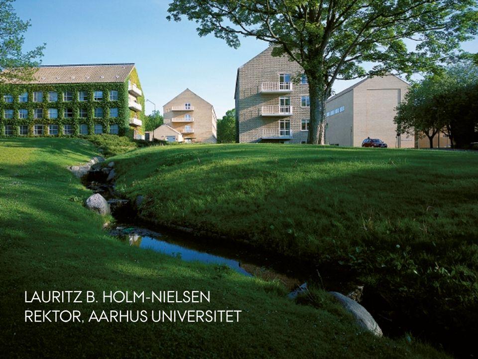 LAURITZ B. HOLM-NIELSEN REKTOR, AARHUS UNIVERSITET