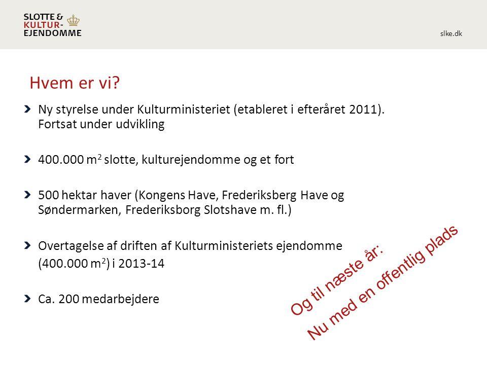 slke.dk Hvem er vi. Ny styrelse under Kulturministeriet (etableret i efteråret 2011).