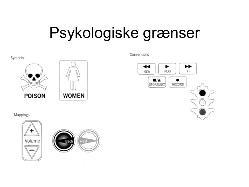 Psykologiske grænser