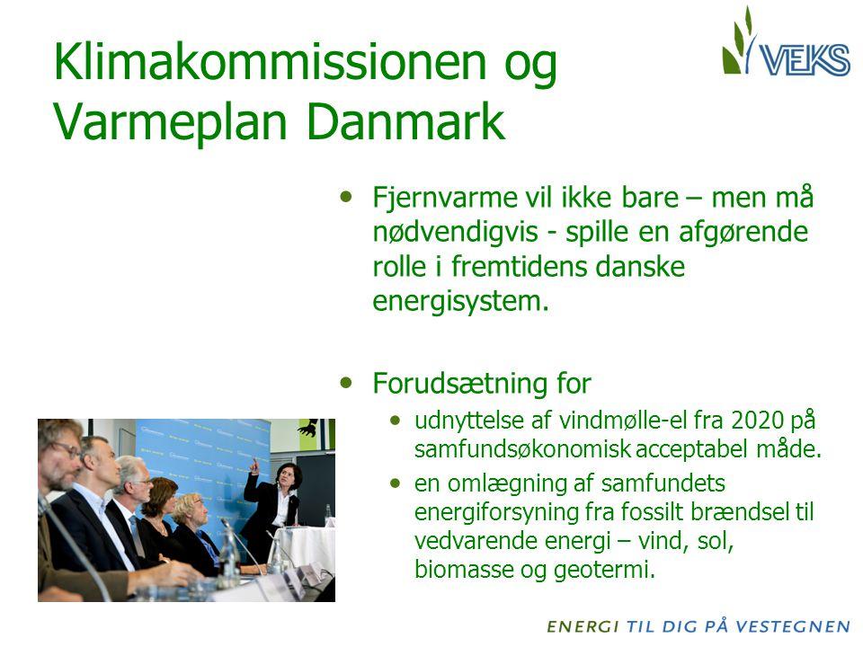 Klimakommissionen og Varmeplan Danmark Fjernvarme vil ikke bare – men må nødvendigvis - spille en afgørende rolle i fremtidens danske energisystem.