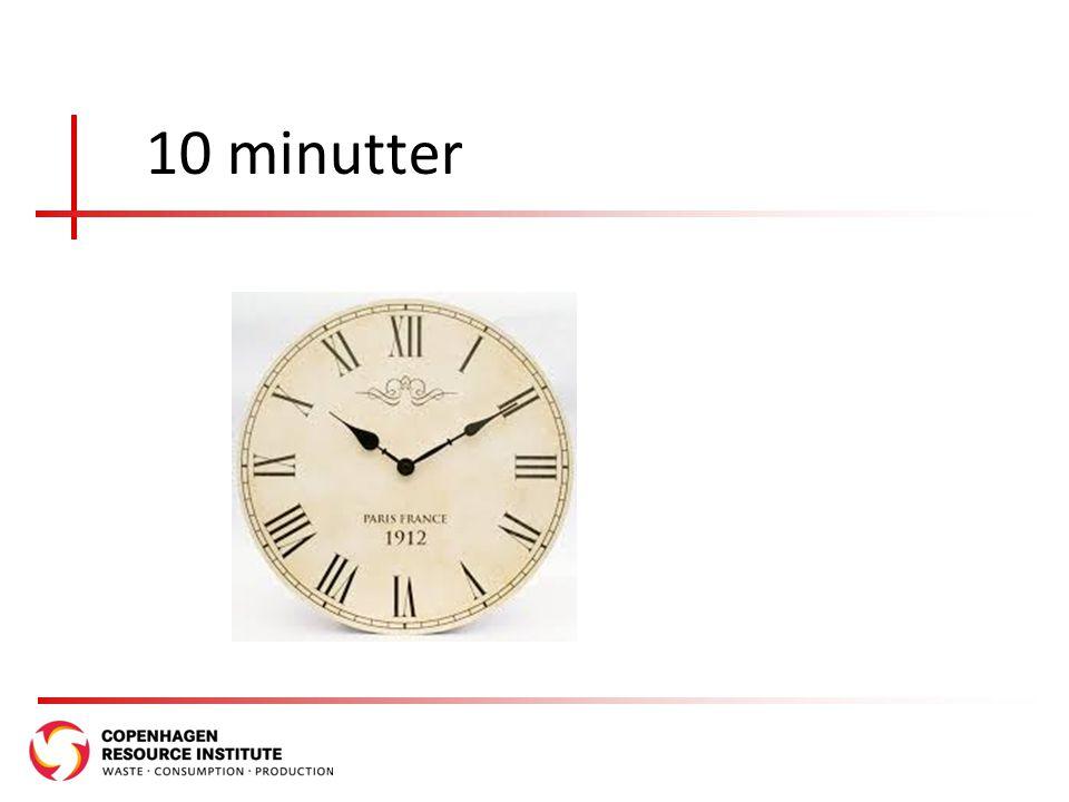 10 minutter