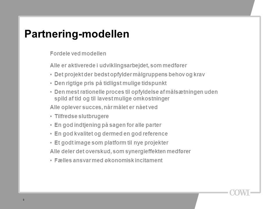 8 2 forskellige partnering modeller