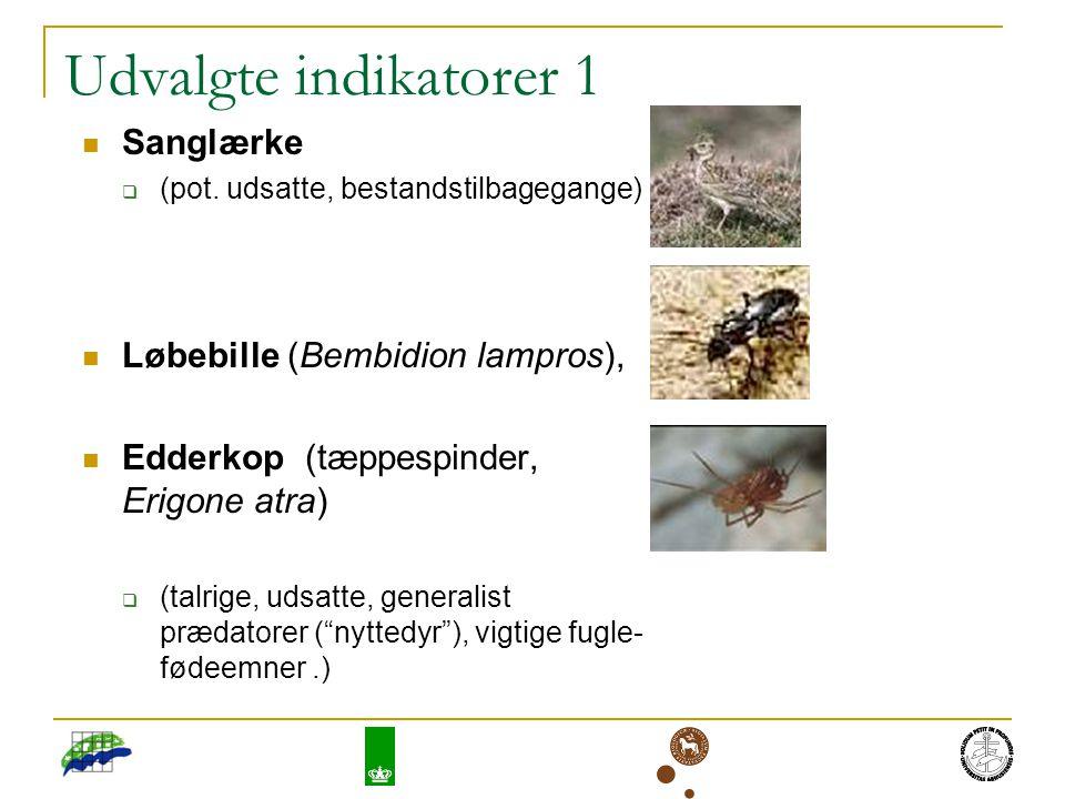 Udvalgte indikatorer 1 Sanglærke  (pot.