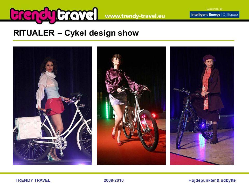 Højdepunkter & udbytteTRENDY TRAVEL2008-2010 RITUALER – Cykel design show
