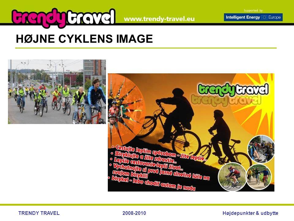 Højdepunkter & udbytteTRENDY TRAVEL2008-2010 HØJNE CYKLENS IMAGE