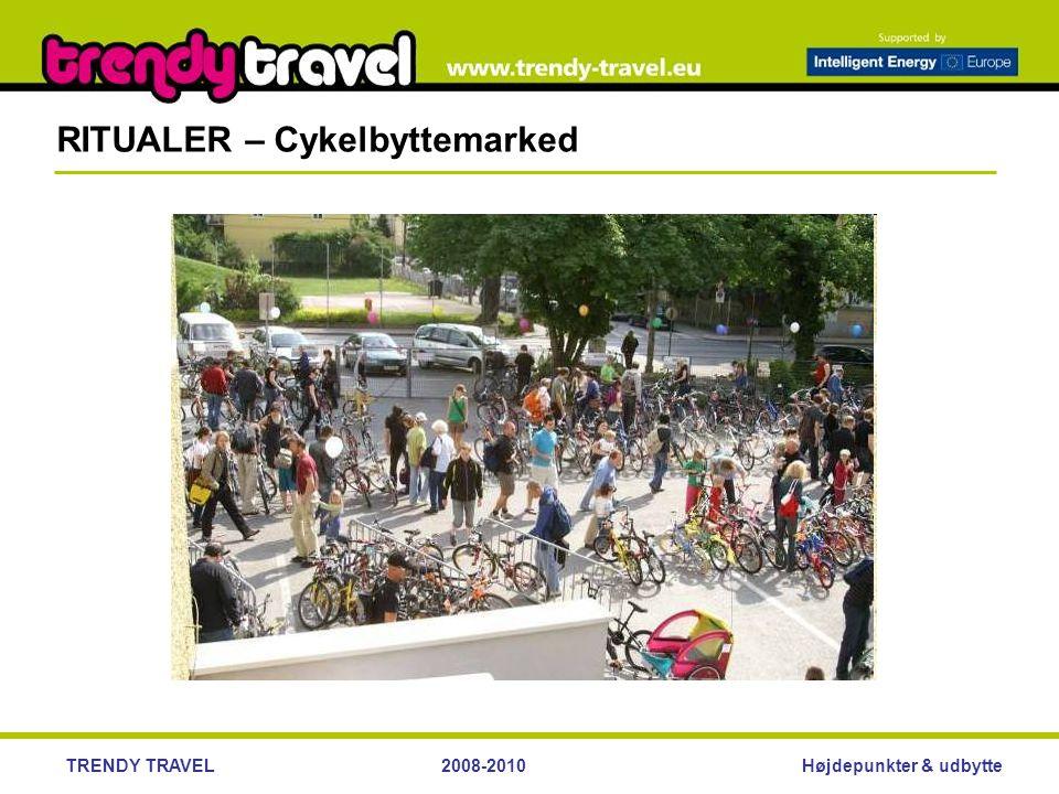 Højdepunkter & udbytteTRENDY TRAVEL2008-2010 RITUALER – Cykelbyttemarked