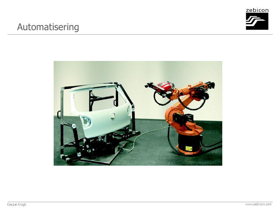 www.zebicon.com Automatisering Kasper Krogh