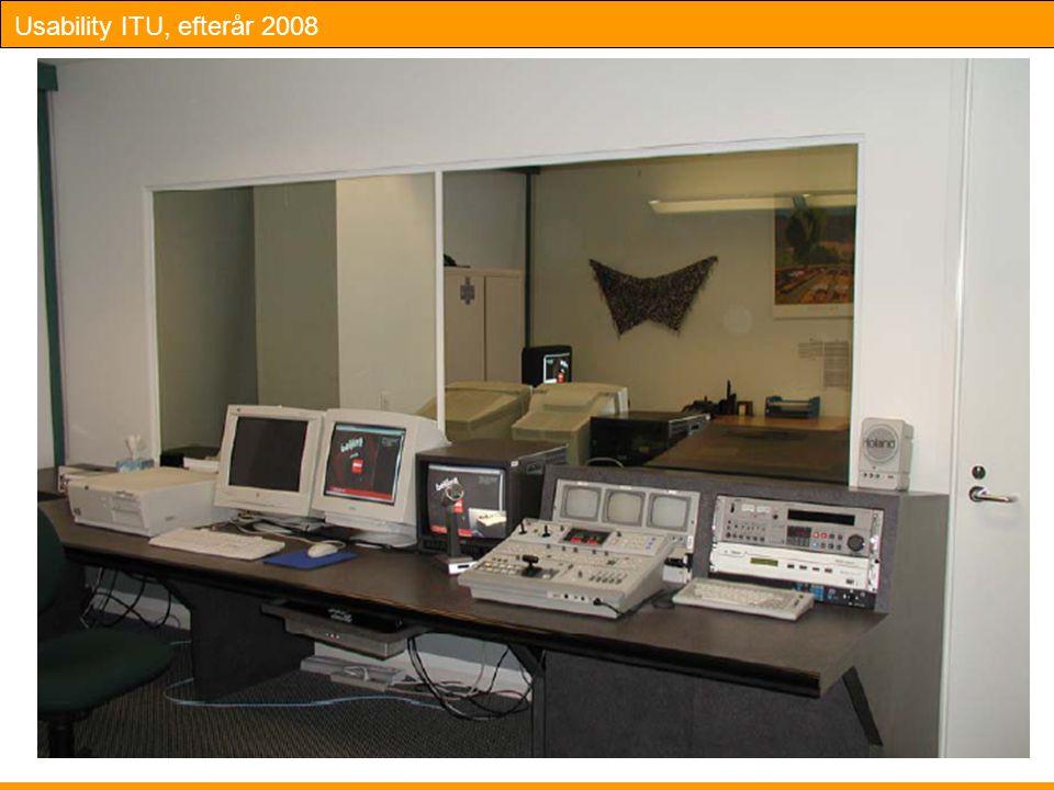 Usability ITU, efterår 2008 14