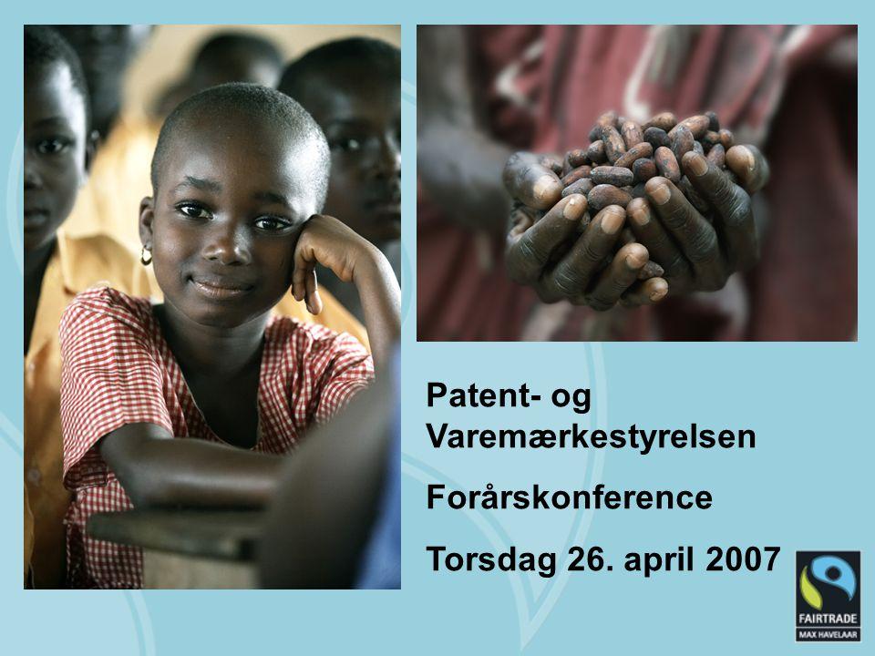 Patent- og Varemærkestyrelsen Forårskonference Torsdag 26. april 2007