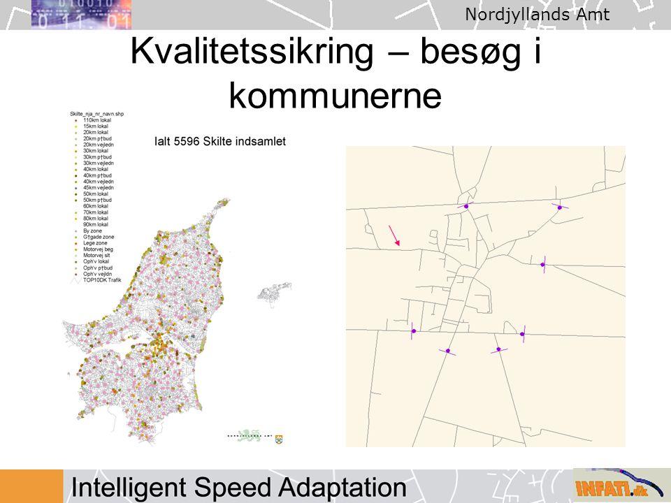 Nordjyllands Amt Kvalitetssikring – besøg i kommunerne