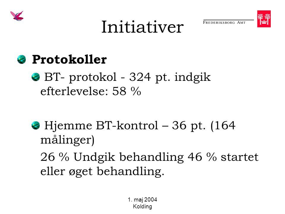 1. maj 2004 Kolding Initiativer Protokoller BT- protokol - 324 pt.