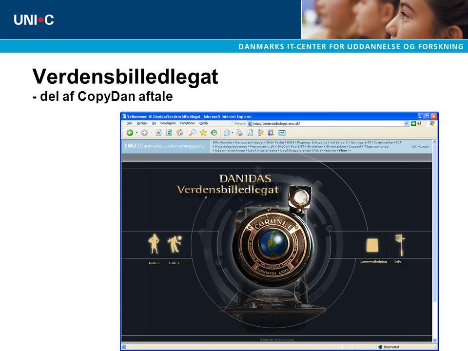 Verdensbilledlegat - del af CopyDan aftale