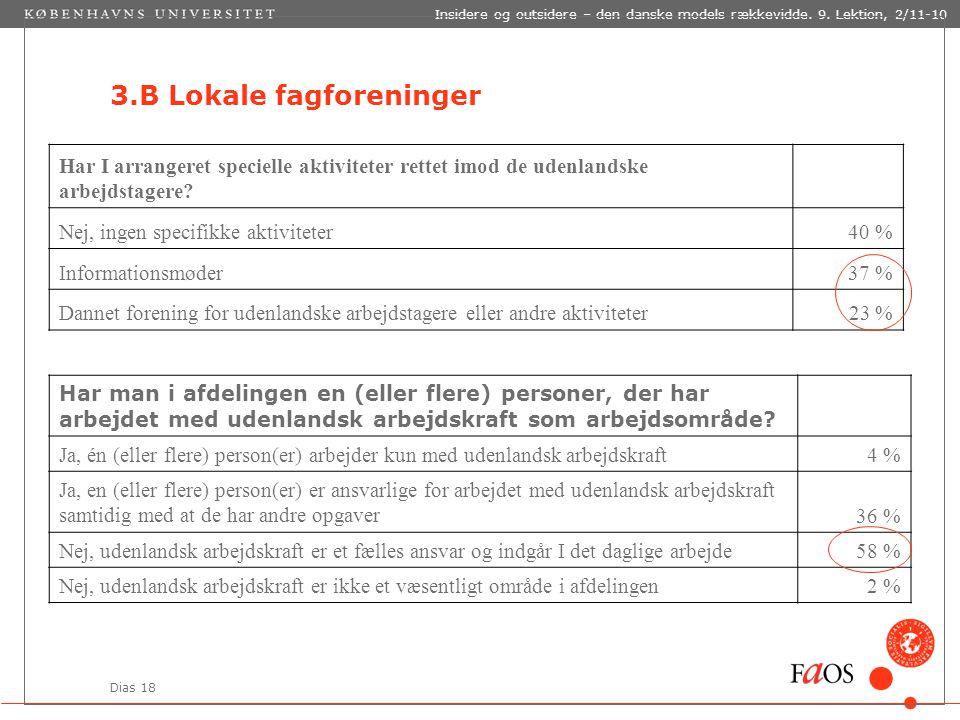 Dias 18 Insidere og outsidere – den danske models rækkevidde.
