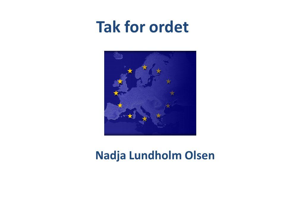 Tak for ordet Nadja Lundholm Olsen