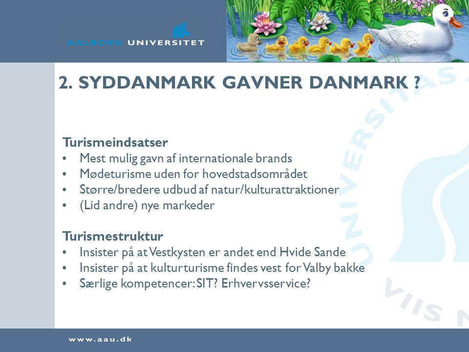 2. SYDDANMARK GAVNER DANMARK .