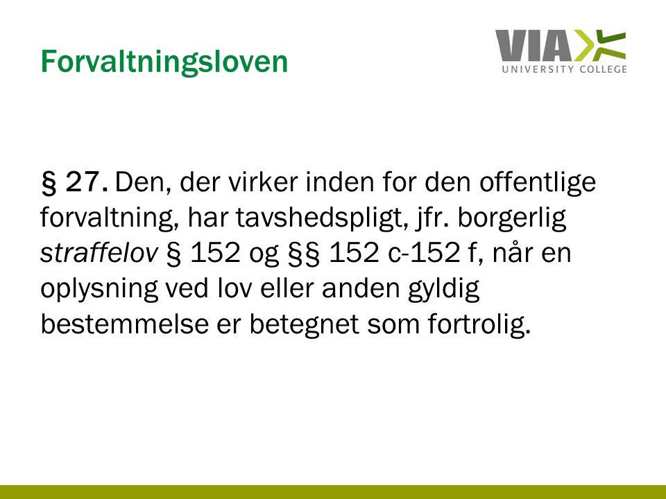Forvaltningsloven § 27.