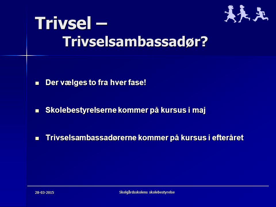 Trivsel – Trivselsambassadør.
