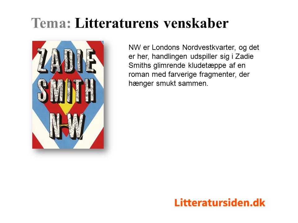 NW er Londons Nordvestkvarter, og det er her, handlingen udspiller sig i Zadie Smiths glimrende kludetæppe af en roman med farverige fragmenter, der hænger smukt sammen.