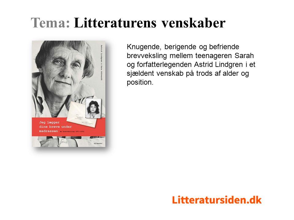 Knugende, berigende og befriende brevveksling mellem teenageren Sarah og forfatterlegenden Astrid Lindgren i et sjældent venskab på trods af alder og position.