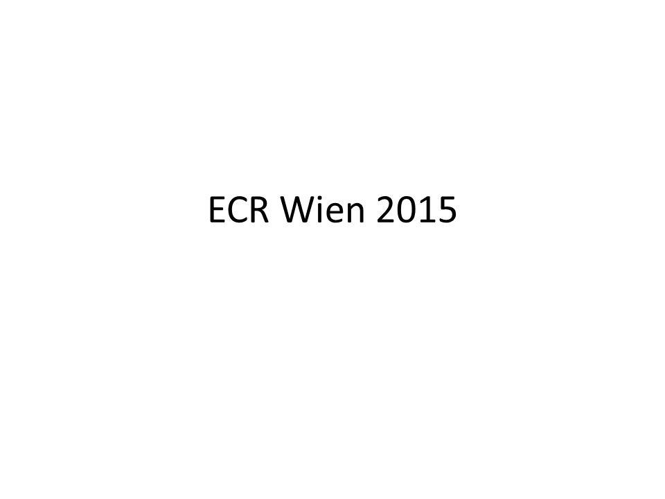 ECR Wien 2015