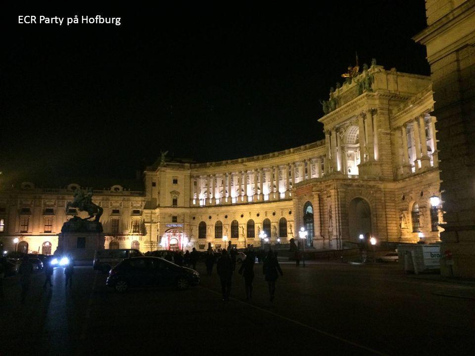 ECR Party på Hofburg
