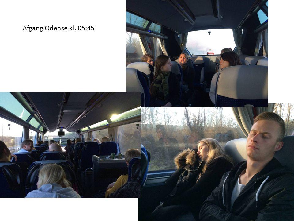 Afgang Odense kl. 05:45