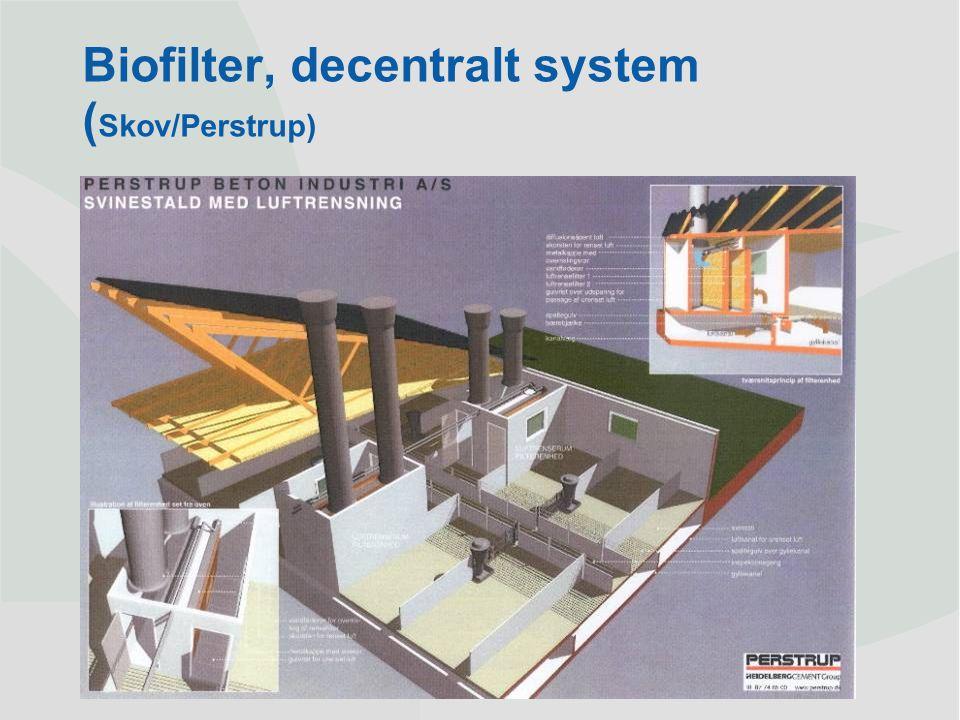 Dansk Landbrugsrådgivning Landscentret | Byggeri og Teknik Biofilter, decentralt system ( Skov/Perstrup)