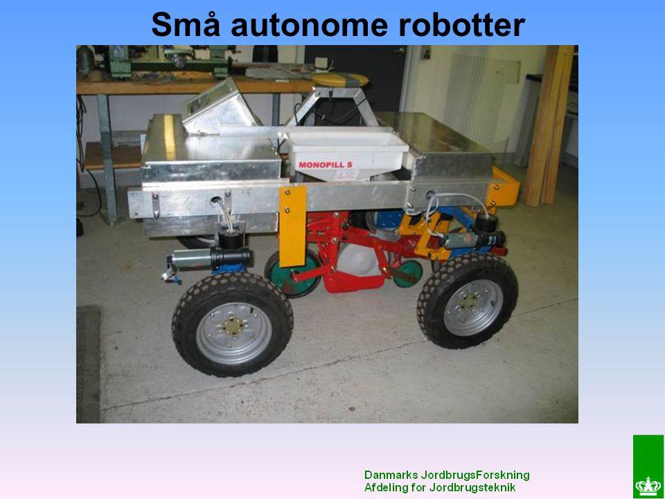 Små autonome robotter