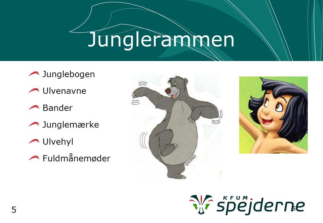 5 5 Junglerammen Junglebogen Ulvenavne Bander Junglemærke Ulvehyl Fuldmånemøder
