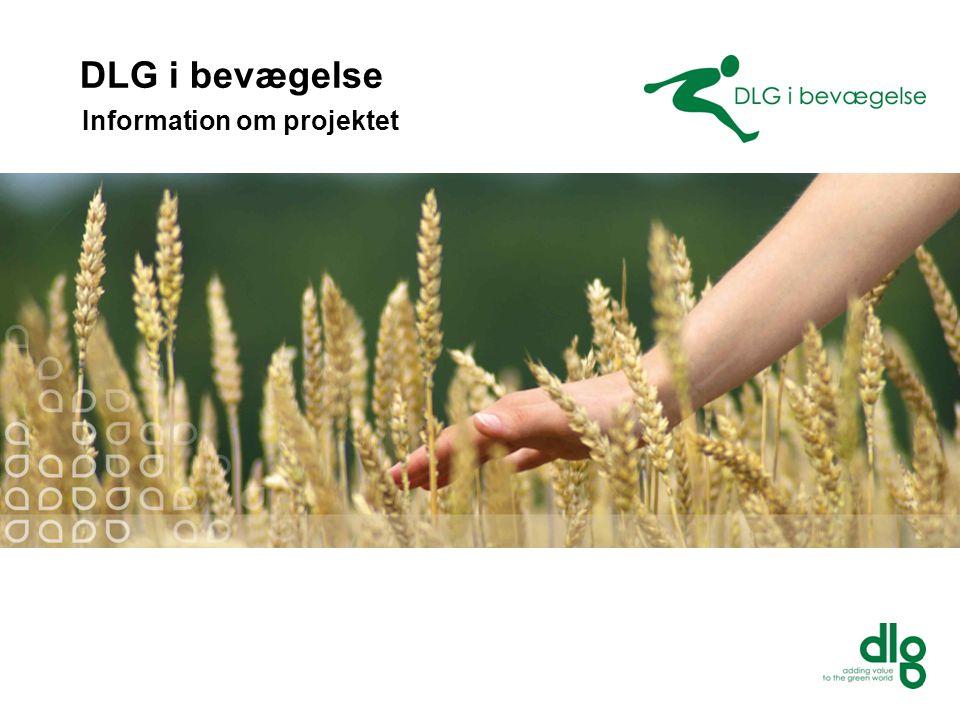 DLG i bevægelse Information om projektet