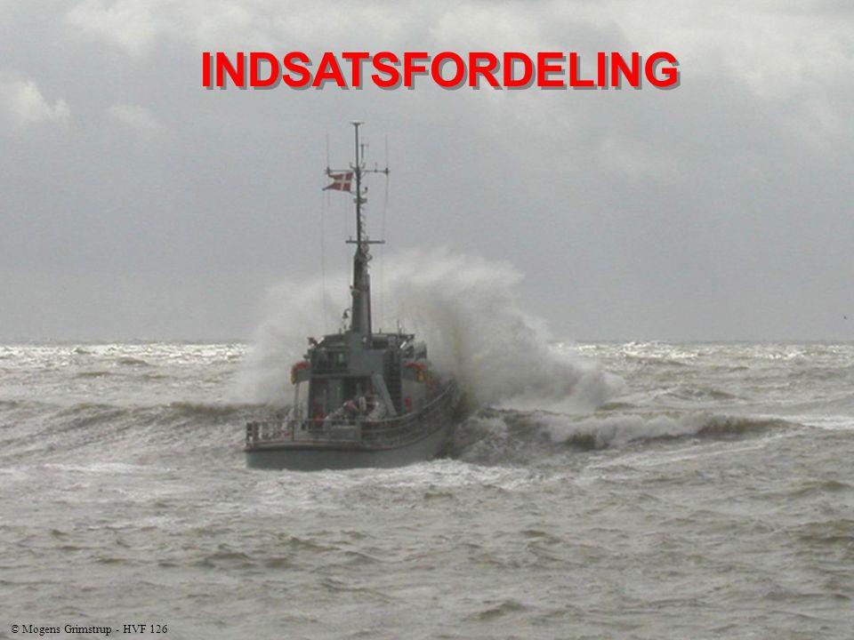 INDSATSFORDELING © Mogens Grimstrup - HVF 126