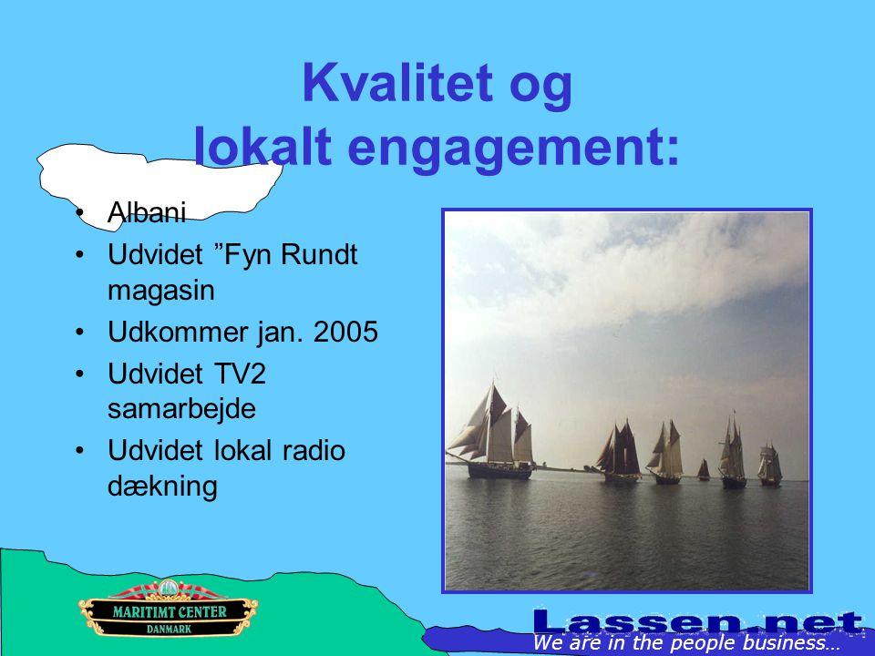Kvalitet og lokalt engagement: Albani Udvidet Fyn Rundt magasin Udkommer jan.