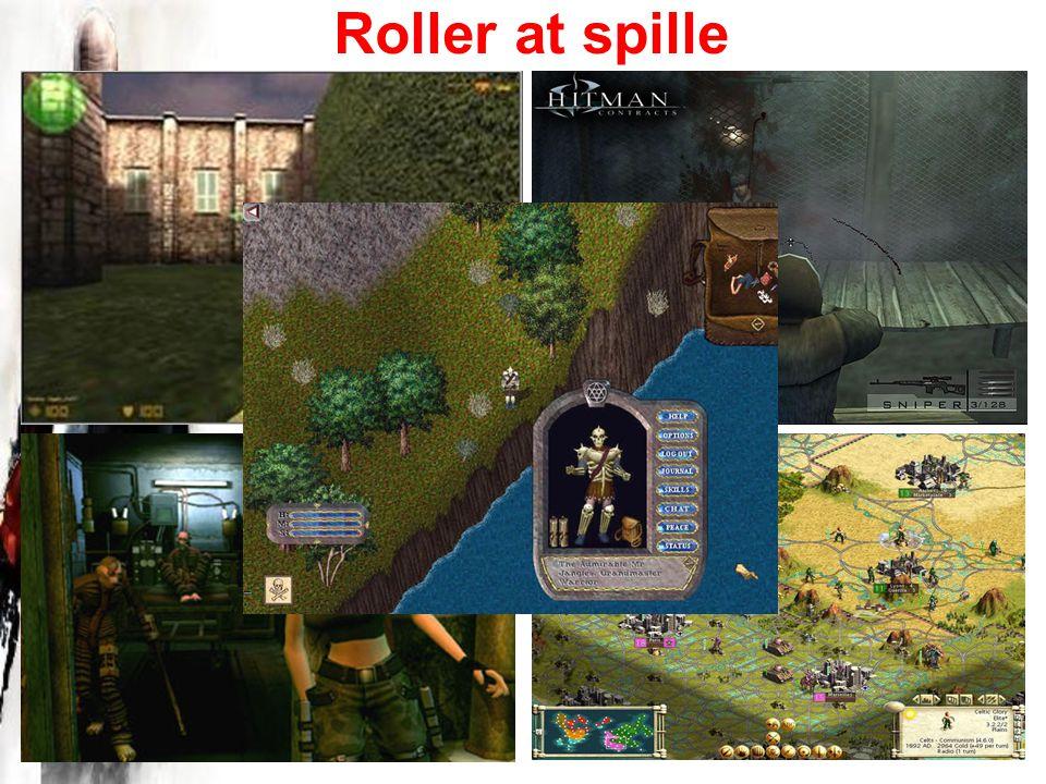 Roller at spille