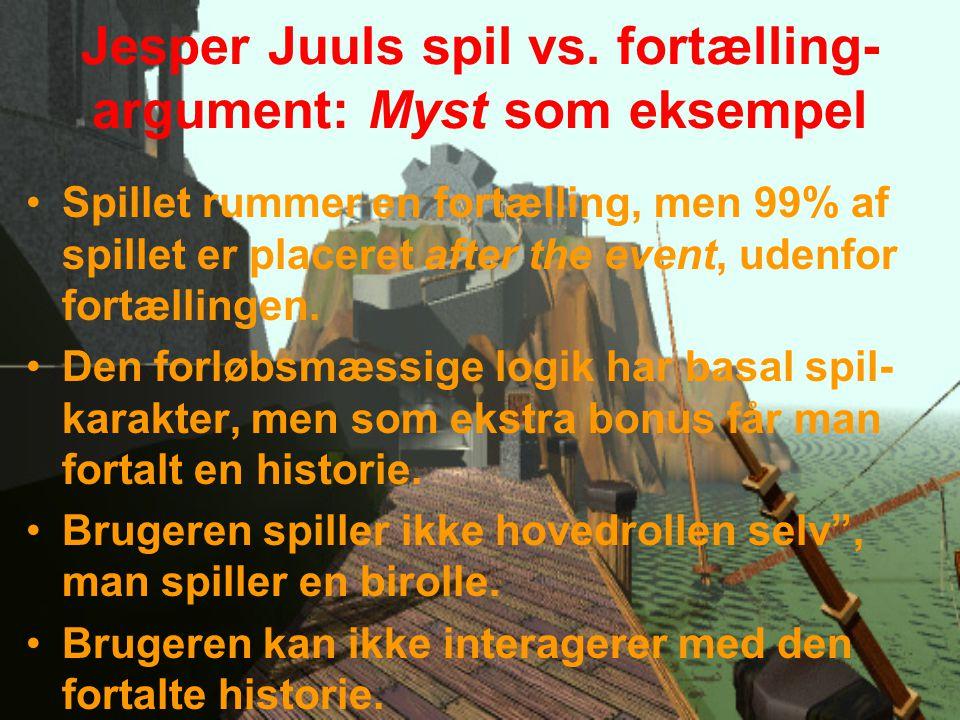 Jesper Juuls spil vs.
