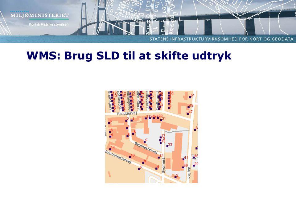 WMS: Brug SLD til at skifte udtryk