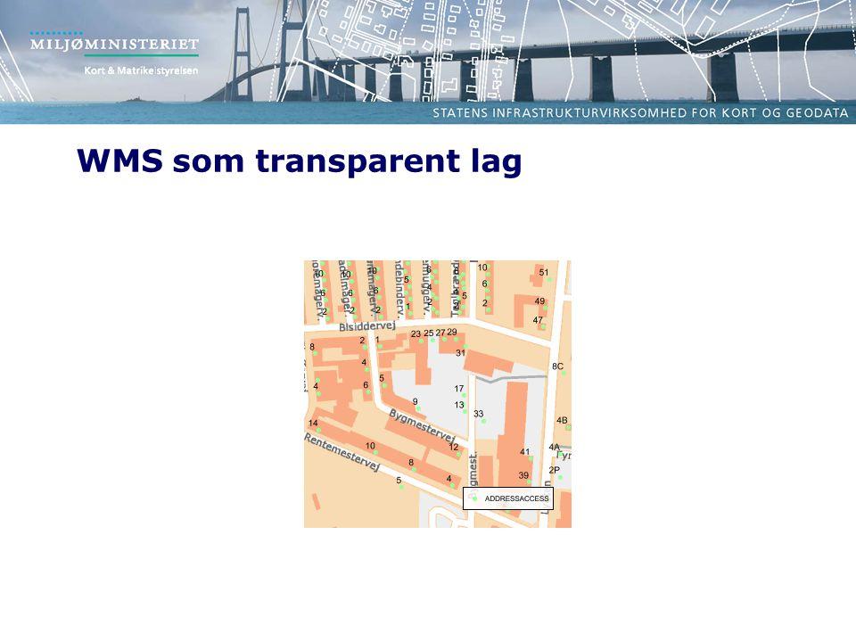 WMS som transparent lag