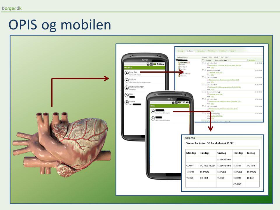 OPIS og mobilen