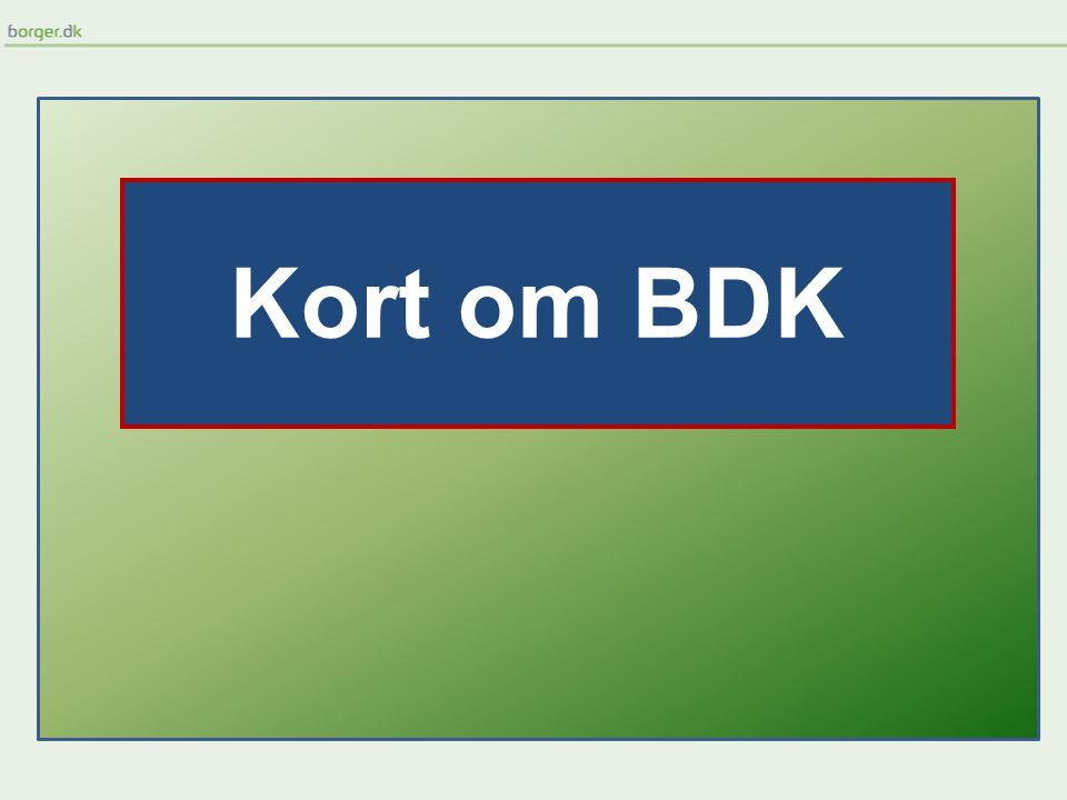 Kort om BDK