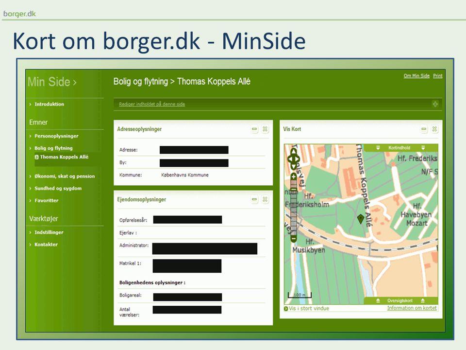 Kort om borger.dk - MinSide