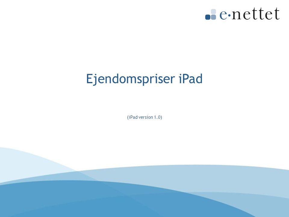 Ejendomspriser iPad (iPad version 1.0)