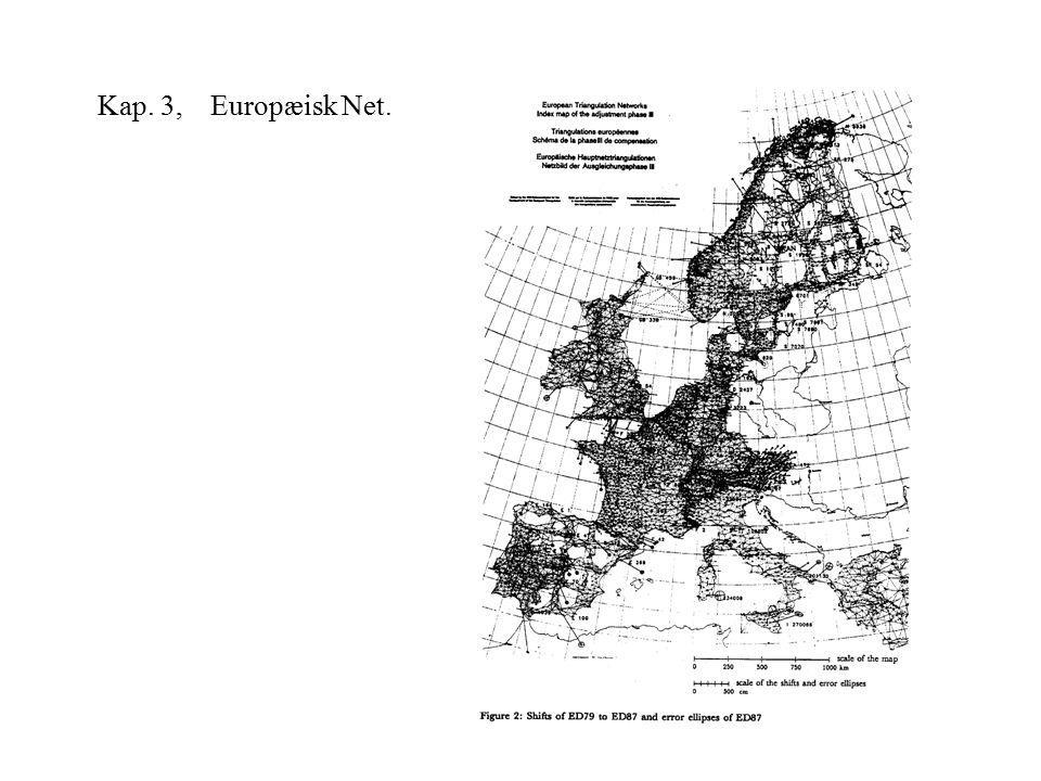 Kap. 3, Europæisk Net.