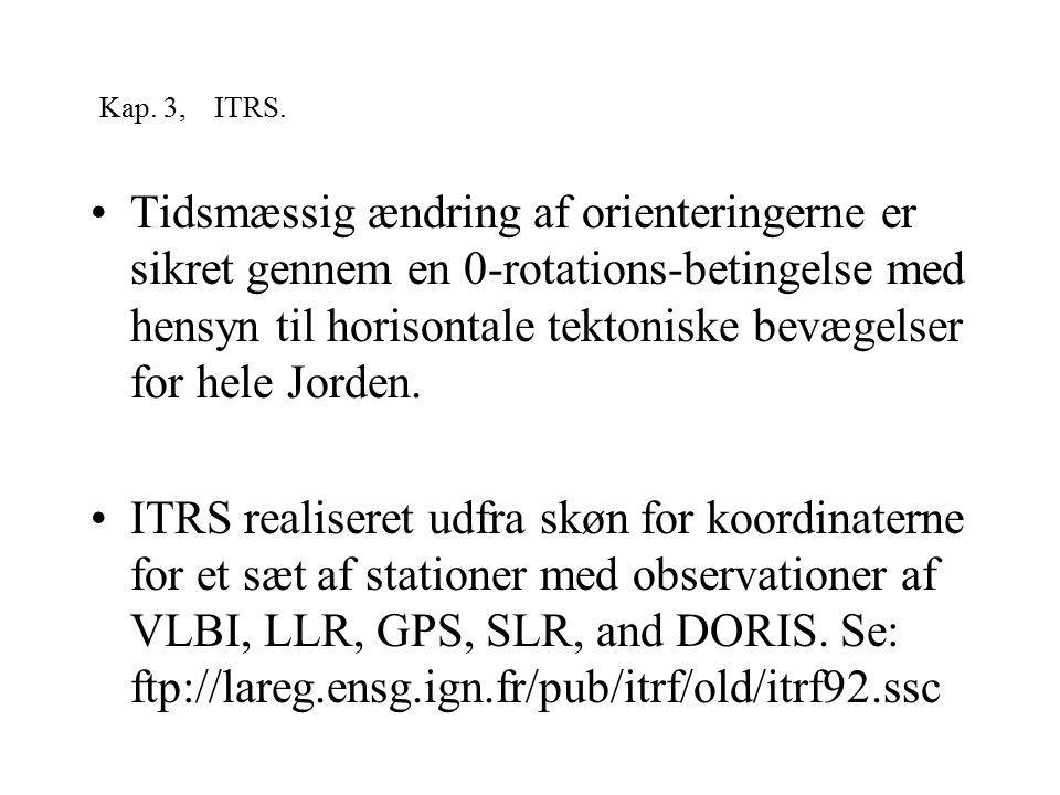 Kap. 3, ITRS.